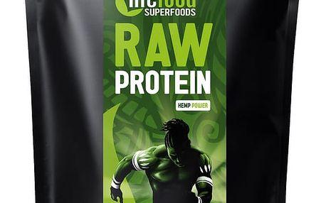 LIFEFOOD Bio protein konopný RAW 1000 g
