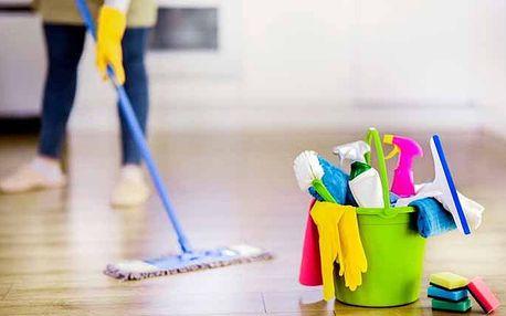 Úklid domácnosti na 5 nebo 10 hodin v Praze úklidovou službou Babeta