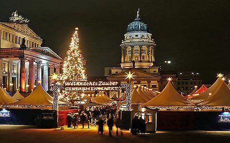 Adventní Berlín - trhy, prohlídka města: 1denní výlet pro 1 os.