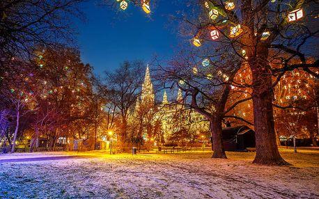 1 denní výlet na vánoční trhy do adventní Vídně