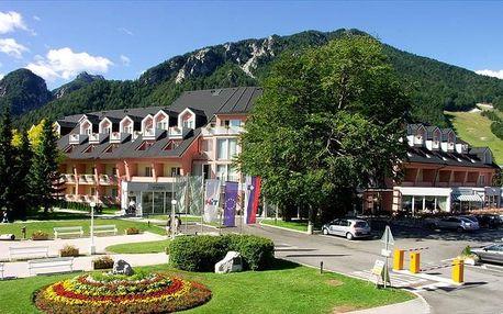 Slovinsko - Kranjska Gora na 7 dní, polopenze s dopravou vlastní