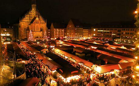 Adventní Norimberk - 1denní výlet na trhy a prohlídku města