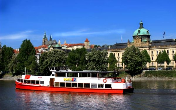 Vyhlídková plavba po Vltavě na 1 či 2 hod. s možností rautu