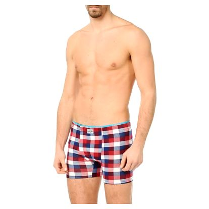 Pánské kostičkované boxerky May
