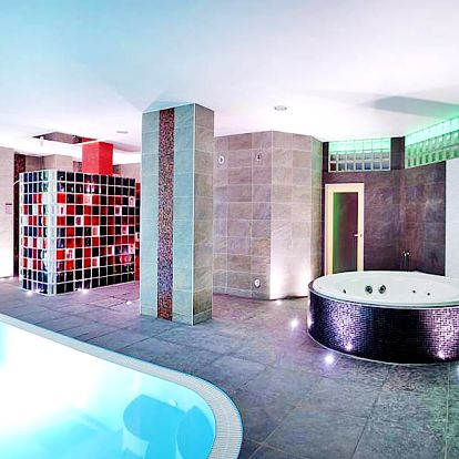 Podzimní jižní Morava v hotelu u Brněnské přehrady s bazénem, saunami, vířivkou, fitness a polopenzí