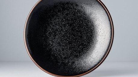 MIJ Mělký talíř Tenmokku 25 cm