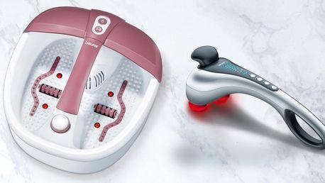 Masážní vanička a přístroj pro relaxační masáž