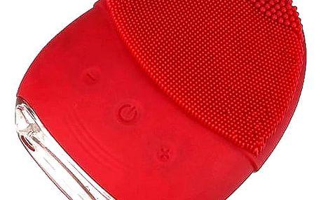 Voděodolný silikonový čistící kartáček pleti. Vhodný je pro ženy i pro muže.