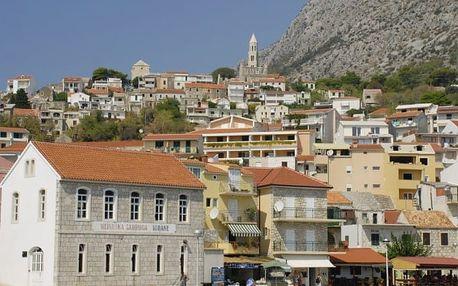 Chorvatsko - Makarska Riviera na 10 dní, bez stravy s dopravou autobusem