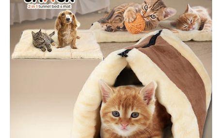 Pelíšek pro kočky Kitty Shack