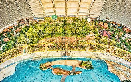 2–3denní pobyt ve stanu v Tropical Islands pro 1 osobu s využitím zábavního světa