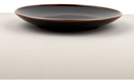 MIJ Kulatý talíř Tenmokku 25 cm
