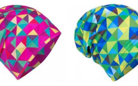 Fleecová čepice triangl pro děti