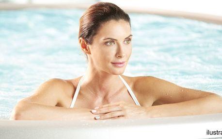 Wellness pro 2: vířivka, sauna, bazén i zábal