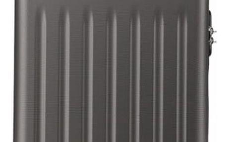 Šedý kabinový kufr Romero 1872