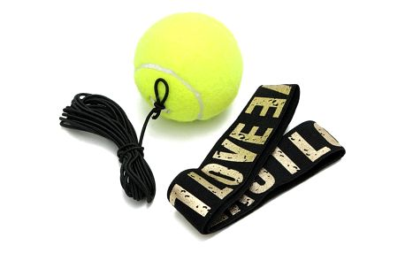 Boxovací tenisový míček s čelenkou