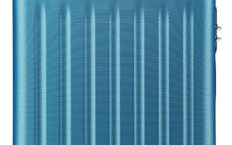 Modrý kabinový kufr Romero 1872