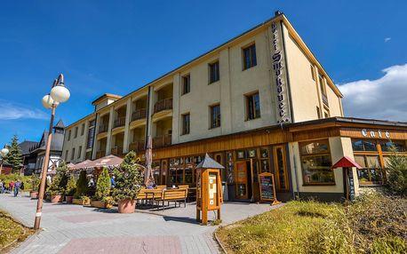 Hotel Smokovec *** v Tatrách s wellness a polopenzí