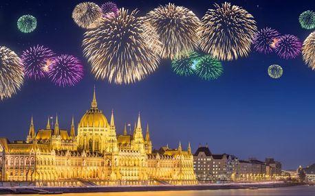 Silvestr v Budapešti s ubytováním a snídaní