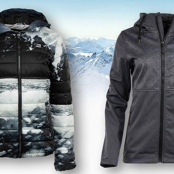 Teplé dámské bundy Alpine Pro ve dvou provedeních