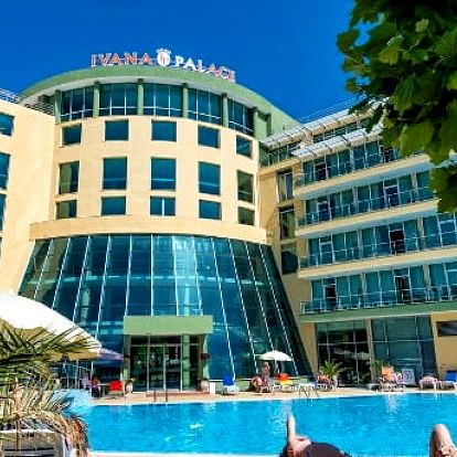 Bulharsko - Slunečné Pobřeží na 8 dní, polopenze s dopravou letecky z Bratislavy 300 m od pláže