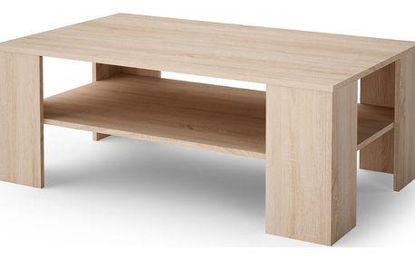 Konferenční stolek CHECO dub sonoma