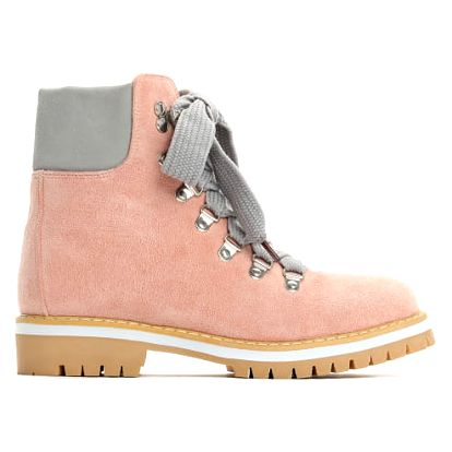 Dámské růžové kotníkové boty Trey 9092