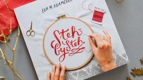 Kniha Steh by steh - Eva M. Adamcová, bílá barva, papír