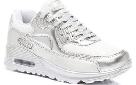 Dámské stříbrné tenisky Salina 726