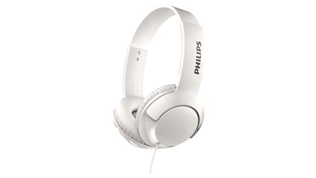 Sluchátka Philips SHL3070WT bílá (SHL3070WT/00)