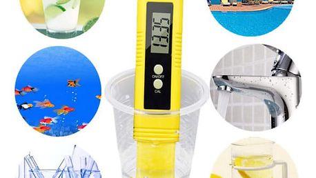 Digitální pH metr a měřič kvality vody