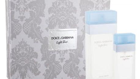 Dolce&Gabbana Light Blue dárková kazeta pro ženy toaletní voda 100 ml + toaletní voda 25 ml