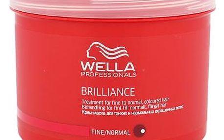 Wella Brilliance Normal Hair 500 ml maska na vlasy W