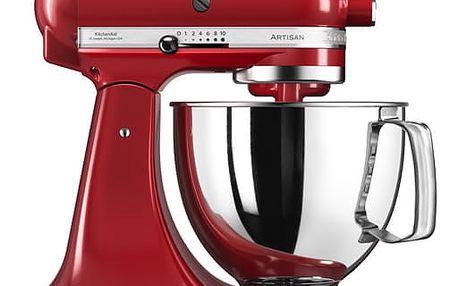 Kuchyňský robot KitchenAid Artisan 5KSM125EER červený