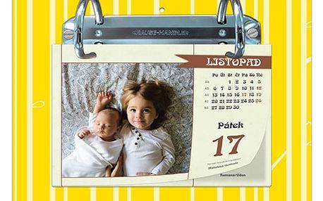Nástěnný kalendář z vlastních fotografií nebo se sudoku