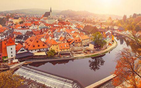 Romantický jesenný pobyt pre dvoch v Českom Krumlove