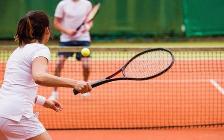 Permanentka do tenisové haly až na 5 hodin