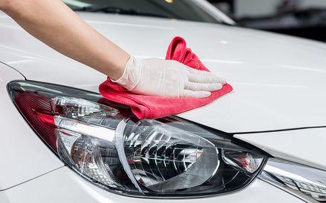 Ruční mytí vozu včetně interiéru a ochrany laku