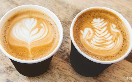 Cappuccino nebo latté s různými příchutěmi