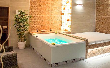 Privátní spa se saunou a koupel ze zeleného čaje