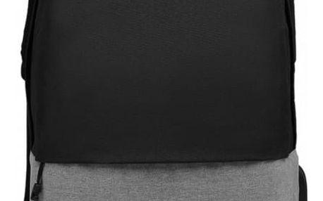 Dámský černo-šedý batoh Karley 6891