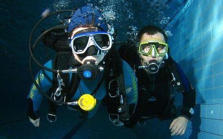 Ochutnávka potápění v nejhlubší potápěčské věži ČR