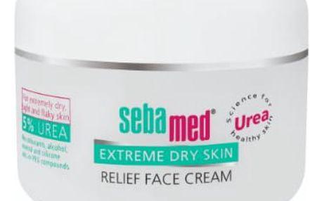 SEBAMED Urea 5% Zklidňující krém na obličej (50 ml)