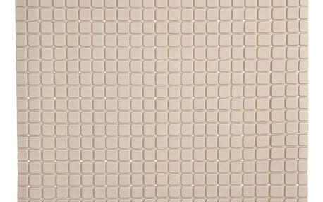 Koopman Protiskluzová podložka do koupelny béžová, 55 x 55 cm