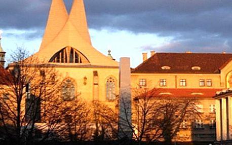 Vstupenka na koncert Adventní a muzikálové melodie ve vytápěném refektáři Emauzského kláštera.