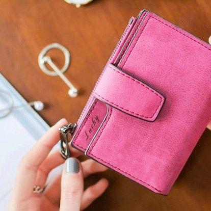 Elegantní dámské peněženky v pastelových barvách