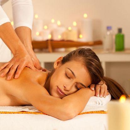 Relaxační Lomi-Lomi masáž se zábalem dle výběru