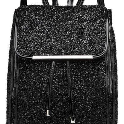 Dámský černý batoh Eden 6841