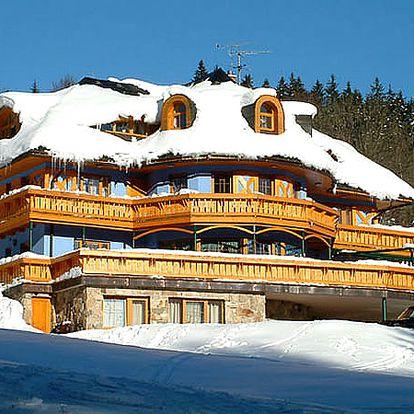 Lyžařský pobyt pro dva na 3 dny v Hotelu Vladimír, polopenze, džbánek vína, káva nebo čaj.