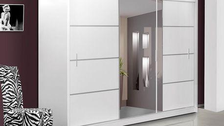 Smartshop Šatní skříň VISTA 250 bílá